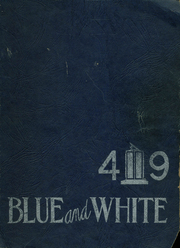 1949 Edition, Los Angeles High School - Blue and White Yearbook (Los Angeles, CA)