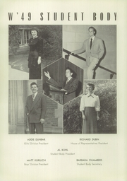 Page 14, 1949 Edition, Los Angeles High School - Blue and White Yearbook (Los Angeles, CA) online yearbook collection