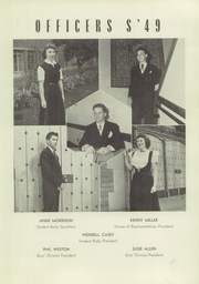 Page 15, 1949 Edition, Los Angeles High School - Blue and White Yearbook (Los Angeles, CA) online yearbook collection
