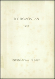 Page 5, 1932 Edition, John Fremont High School - Fremontian Yearbook (Los Angeles, CA) online yearbook collection