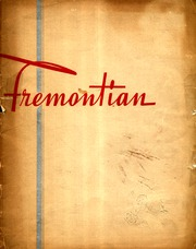 1945 Edition, John Fremont High School - Fremontian Yearbook (Los Angeles, CA)