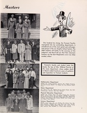 Page 11, 1951 Edition, John Fremont High School - Fremontian Yearbook (Los Angeles, CA) online yearbook collection