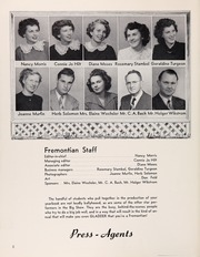 Page 12, 1951 Edition, John Fremont High School - Fremontian Yearbook (Los Angeles, CA) online yearbook collection