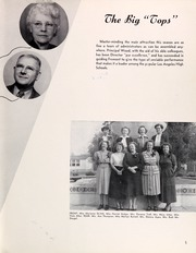 Page 9, 1951 Edition, John Fremont High School - Fremontian Yearbook (Los Angeles, CA) online yearbook collection