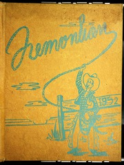 1952 Edition, John Fremont High School - Fremontian Yearbook (Los Angeles, CA)