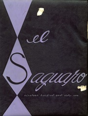 1961 Edition, Yuma Union High School - El Saguaro Yearbook (Yuma, AZ)