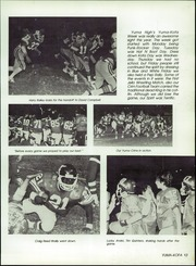 Page 17, 1983 Edition, Yuma Union High School - El Saguaro Yearbook (Yuma, AZ) online yearbook collection