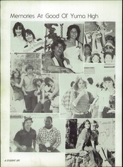 Page 8, 1983 Edition, Yuma Union High School - El Saguaro Yearbook (Yuma, AZ) online yearbook collection