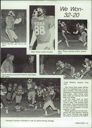 Page 17, 1986 Edition, Yuma Union High School - El Saguaro Yearbook (Yuma, AZ) online yearbook collection