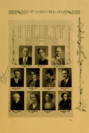 Page 15, 1930 Edition, Orange Union High School - Orange and White Yearbook (Orange, CA) online yearbook collection