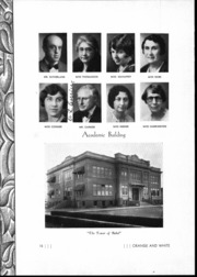 Page 17, 1933 Edition, Orange Union High School - Orange and White Yearbook (Orange, CA) online yearbook collection