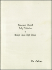 Page 5, 1945 Edition, Orange Union High School - Orange and White Yearbook (Orange, CA) online yearbook collection