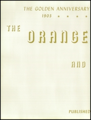 Page 6, 1953 Edition, Orange Union High School - Orange and White Yearbook (Orange, CA) online yearbook collection