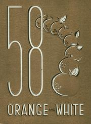 Page 1, 1958 Edition, Orange Union High School - Orange and White Yearbook (Orange, CA) online yearbook collection