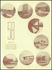 Page 7, 1958 Edition, Orange Union High School - Orange and White Yearbook (Orange, CA) online yearbook collection