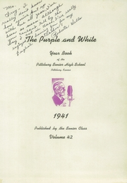 Page 5, 1941 Edition, Pittsburg High School - Purple and White Yearbook (Pittsburg, KS) online yearbook collection