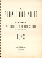 Page 5, 1942 Edition, Pittsburg High School - Purple and White Yearbook (Pittsburg, KS) online yearbook collection