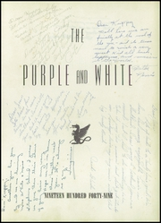 Page 5, 1949 Edition, Pittsburg High School - Purple and White Yearbook (Pittsburg, KS) online yearbook collection