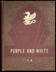 1954 Edition, Pittsburg High School - Purple and White Yearbook (Pittsburg, KS)