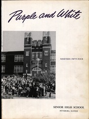 Page 5, 1954 Edition, Pittsburg High School - Purple and White Yearbook (Pittsburg, KS) online yearbook collection