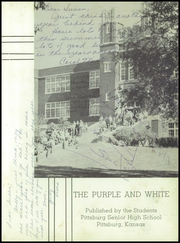 Page 5, 1958 Edition, Pittsburg High School - Purple and White Yearbook (Pittsburg, KS) online yearbook collection