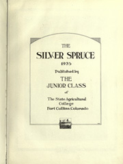 Page 9, 1925 Edition, Colorado State University Fort Collins - Silver Spruce Yearbook (Fort Collins, CO) online yearbook collection