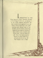 Page 13, 1933 Edition, Colorado State University Fort Collins - Silver Spruce Yearbook (Fort Collins, CO) online yearbook collection