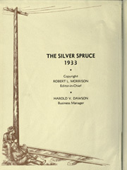 Page 6, 1933 Edition, Colorado State University Fort Collins - Silver Spruce Yearbook (Fort Collins, CO) online yearbook collection