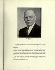 Page 17, 1937 Edition, Colorado State University Fort Collins - Silver Spruce Yearbook (Fort Collins, CO) online yearbook collection