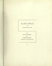 Page 7, 1937 Edition, Colorado State University Fort Collins - Silver Spruce Yearbook (Fort Collins, CO) online yearbook collection