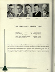 Page 170, 1938 Edition, Colorado State University Fort Collins - Silver Spruce Yearbook (Fort Collins, CO) online yearbook collection