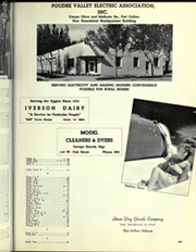 Page 303, 1949 Edition, Colorado State University Fort Collins - Silver Spruce Yearbook (Fort Collins, CO) online yearbook collection