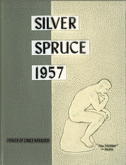 1957 Edition, Colorado State University Fort Collins - Silver Spruce Yearbook (Fort Collins, CO)
