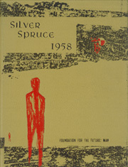1958 Edition, Colorado State University Fort Collins - Silver Spruce Yearbook (Fort Collins, CO)
