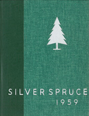 1959 Edition, Colorado State University Fort Collins - Silver Spruce Yearbook (Fort Collins, CO)