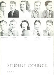 Page 15, 1940 Edition, Glendale High School - Stylus Yearbook (Glendale, CA) online yearbook collection