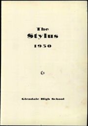 Page 7, 1950 Edition, Glendale High School - Stylus Yearbook (Glendale, CA) online yearbook collection