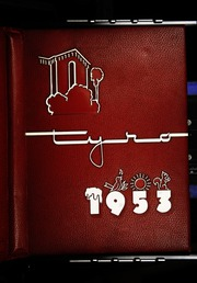 1953 Edition, San Bernardino High School - Tyro Yearbook (San Bernardino, CA)