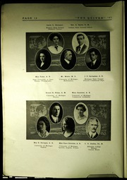 Page 16, 1921 Edition, Pontiac Senior High School - Quiver Yearbook (Pontiac, MI) online yearbook collection
