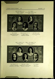 Page 17, 1921 Edition, Pontiac Senior High School - Quiver Yearbook (Pontiac, MI) online yearbook collection