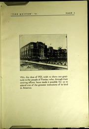 Page 7, 1921 Edition, Pontiac Senior High School - Quiver Yearbook (Pontiac, MI) online yearbook collection