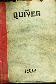 Page 1, 1924 Edition, Pontiac Senior High School - Quiver Yearbook (Pontiac, MI) online yearbook collection