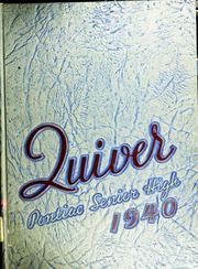 Page 1, 1940 Edition, Pontiac Senior High School - Quiver Yearbook (Pontiac, MI) online yearbook collection