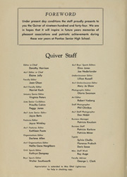 Page 8, 1944 Edition, Pontiac Senior High School - Quiver Yearbook (Pontiac, MI) online yearbook collection