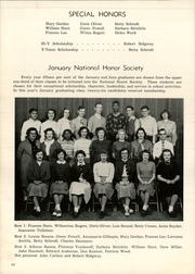 Page 22, 1949 Edition, Pontiac Senior High School - Quiver Yearbook (Pontiac, MI) online yearbook collection
