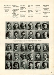Page 33, 1949 Edition, Pontiac Senior High School - Quiver Yearbook (Pontiac, MI) online yearbook collection
