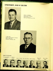 Page 10, 1956 Edition, Pontiac Senior High School - Quiver Yearbook (Pontiac, MI) online yearbook collection