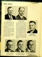 Page 12, 1956 Edition, Pontiac Senior High School - Quiver Yearbook (Pontiac, MI) online yearbook collection