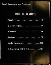 Page 7, 1958 Edition, Pontiac Senior High School - Quiver Yearbook (Pontiac, MI) online yearbook collection