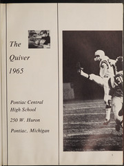 Page 9, 1965 Edition, Pontiac Senior High School - Quiver Yearbook (Pontiac, MI) online yearbook collection